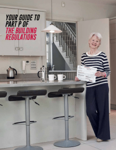 YOUR GUIDE TO PART P REGULATION