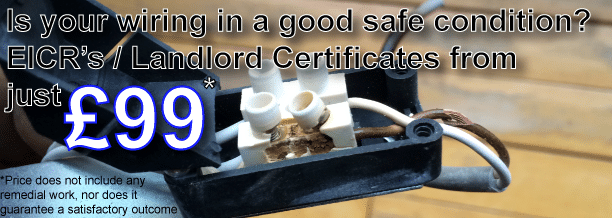 Electrical Installation Condition Report Plymouth (EICR) Periodic Testing