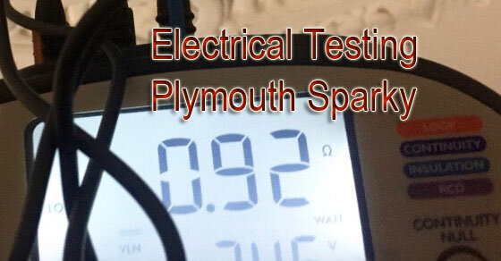 Electrical Testing Plymouth