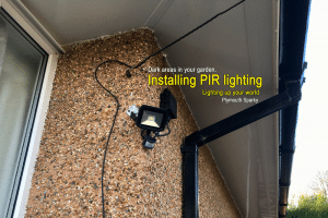 PIR light fitting Plymouth