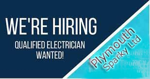 Electricians Wanted Plymouth Sparky